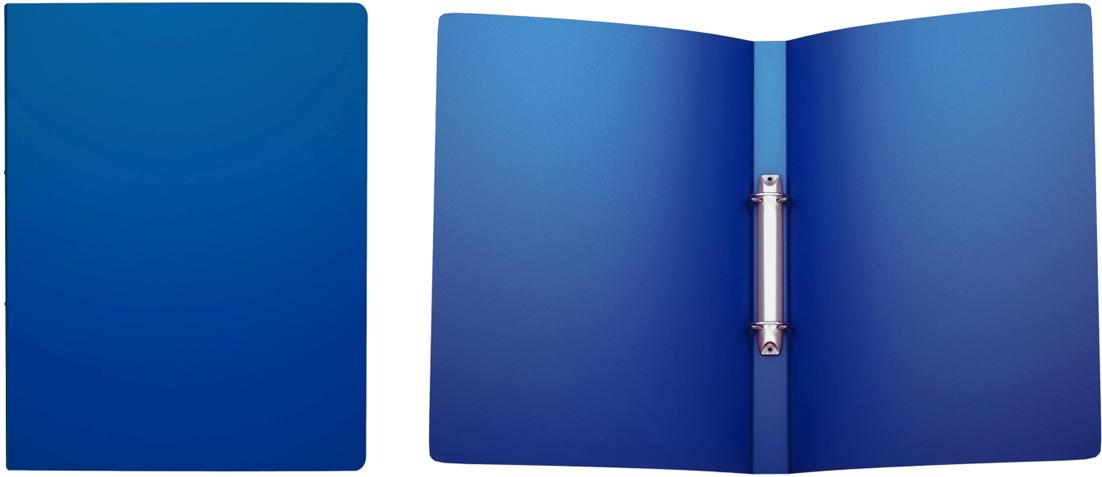 Erich Krause Папка на 2-х кольцах Classic 24 мм формат А4 цвет синий42965;42965Папка на 2-х кольцах Classic предназначена для хранения перфорированных документов.Изделие изготовленоиз пластика. Кольцевой механизм надежно держит документы и файлы. Папка формата A4вмешает 100 листов.