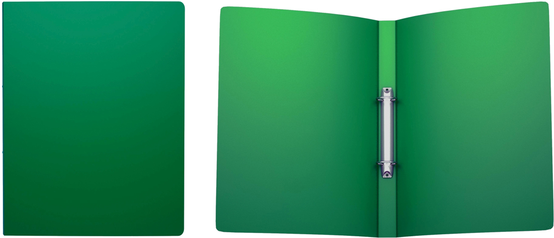 Erich Krause Папка на 2-х кольцах Classic 24 мм формат А4 цвет зеленый42966Папка на 2-х кольцах Classic предназначена для хранения перфорированныхдокументов. Изделие изготовленоиз пластика. Кольцевой механизм надежно держит документы и файлы. Папкаформата A4 вмешает 100 листов.