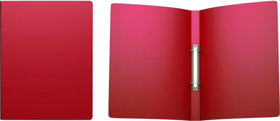 Erich Krause Папка на 2-х кольцах Classic 24 мм формат А4 цвет красный42967Папка на 2-х кольцах Classic предназначена для хранения перфорированных документов.Изделие изготовленоиз пластика. Кольцевой механизм надежно держит документы и файлы. Папка формата A4вмешает 100 листов.