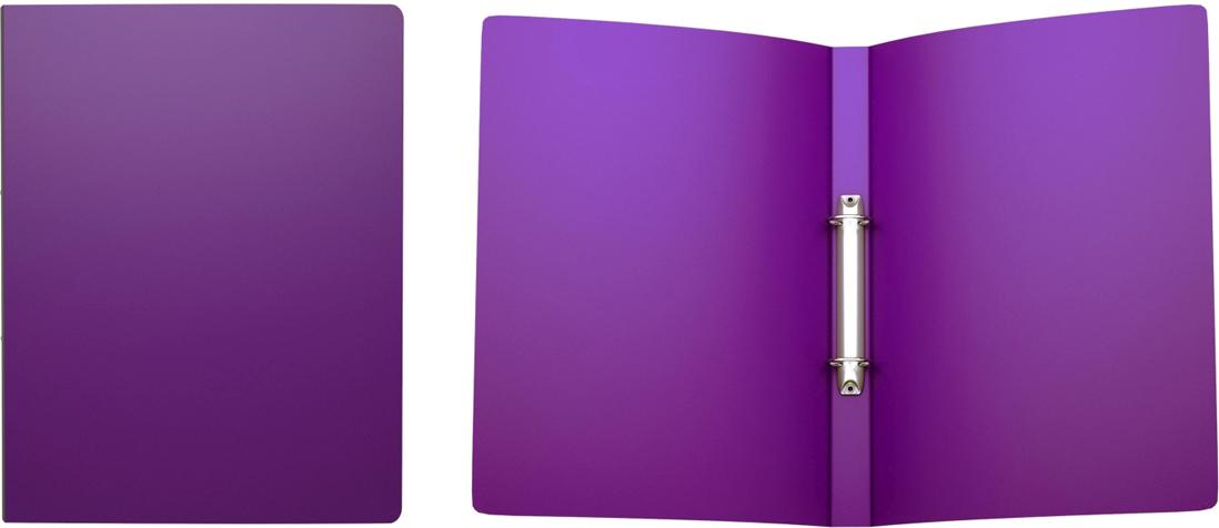 Erich Krause Папка на 2-х кольцах Classic 24 мм формат А4 цвет фиолетовый42969Папка на 2-х кольцах Classic предназначена для хранения перфорированныхдокументов. Изделие изготовленоиз пластика. Кольцевой механизм надежно держит документы и файлы. Папкаформата A4 вмешает 100 листов.