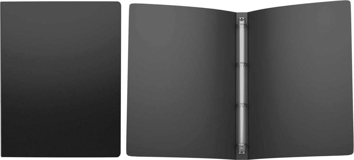 Erich Krause Папка на 4-х кольцах Classic 24 мм формат А4 цвет черный42977Папка на 4-х кольцах Classic предназначена для хранения перфорированных документов. Изделие изготовленоиз пластика. Кольцевой механизм надежно держит документы и файлы. Папка формата A4вмешает 100 листов.