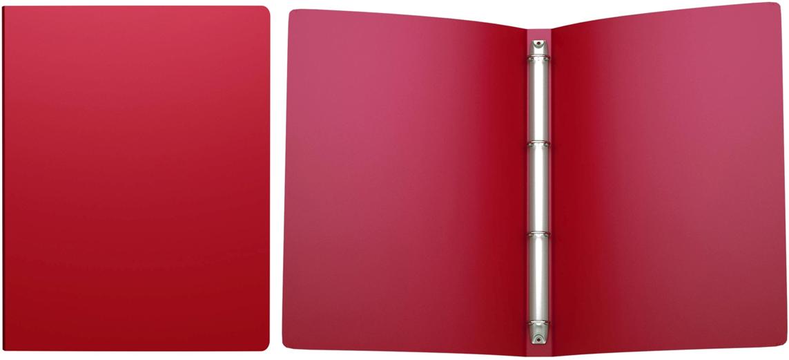 Erich Krause Папка на 4-х кольцах Classic 24 мм формат А4 цвет красный erich krause папка на 4 х кольцах classic 24 мм формат а4 цвет черный