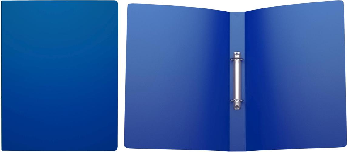 Erich Krause Папка на 2-х кольцах Classic 35 мм формат А4 цвет синий43016;43016Папка на 2-х кольцах Classic предназначена для хранения перфорированных документов.Изделие изготовленоиз пластика. Кольцевой механизм надежно держит документы и файлы. Папка формата A4вмешает 200 листов.