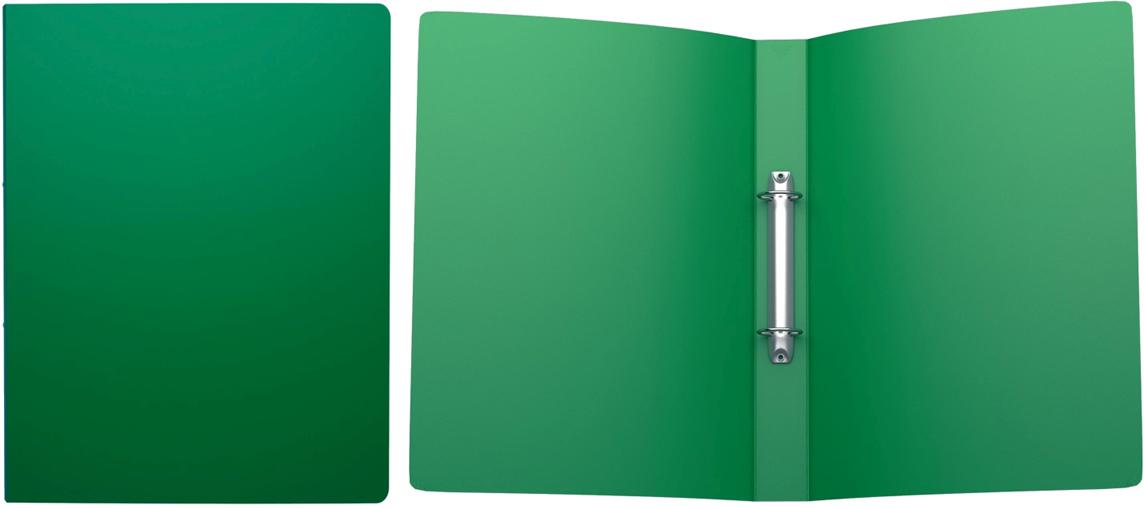 Erich Krause Папка на 2-х кольцах Classic 35 мм формат А4 цвет зеленый43017Папка на 2-х кольцах Classic предназначена для хранения перфорированных документов.Изделие изготовленоиз пластика. Кольцевой механизм надежно держит документы и файлы. Папка формата A4вмешает 200 листов.
