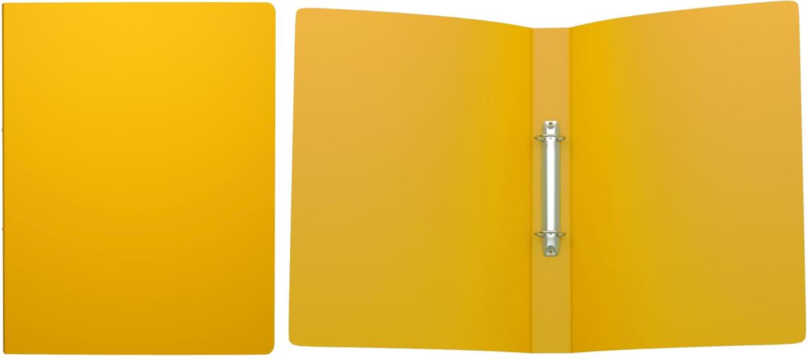 Erich Krause Папка на 2-х кольцах Classic 35 мм формат А4 цвет желтый erich krause папка скоросшиватель semi clear economy формат а4 цвет желтый