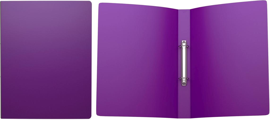 Erich Krause Папка на 2-х кольцах Classic 35 мм формат А4 цвет фиолетовый43020Папка на 2-х кольцах Classic предназначена для хранения перфорированных документов.Изделие изготовленоиз пластика. Кольцевой механизм надежно держит документы и файлы. Папка формата A4вмешает 200 листов.