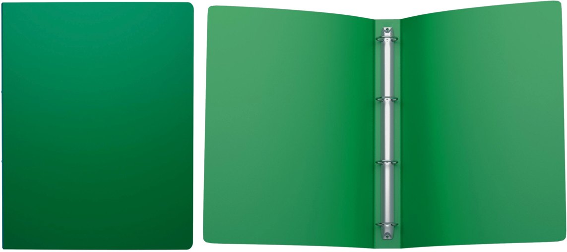 Erich Krause Папка на 4-х кольцах Classic 35 мм формат А4 цвет зеленый папка a4 4 кольца черная rb 16 4 06