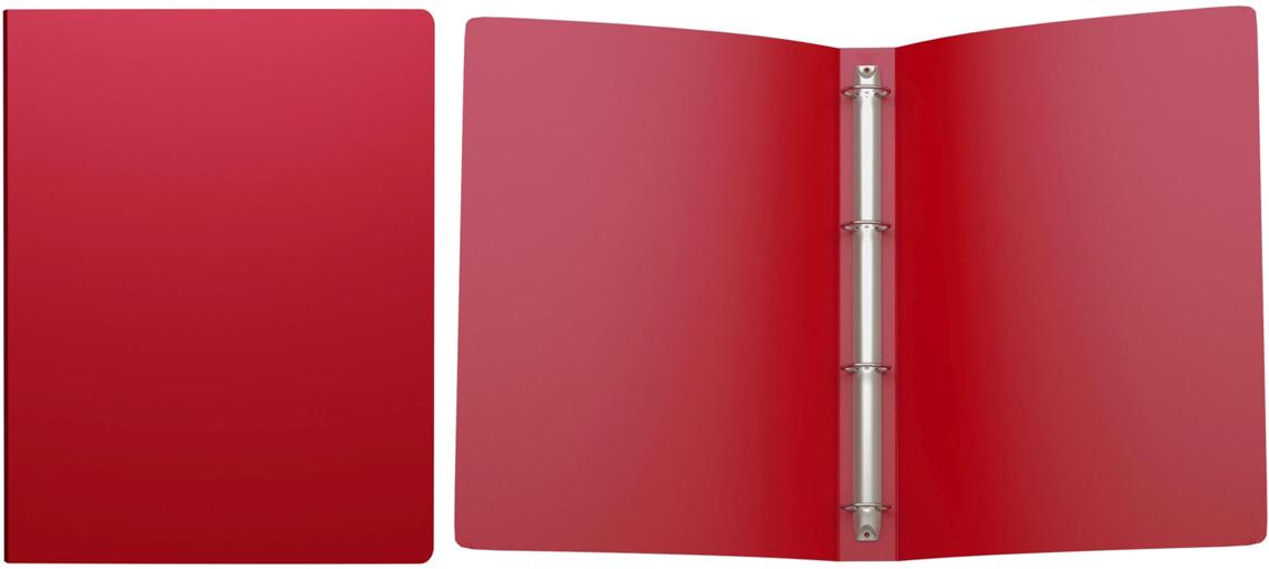 Erich Krause Папка на 4-х кольцах Classic 35 мм формат А4 цвет красный erich krause папка на 4 х кольцах classic 24 мм формат а4 цвет черный