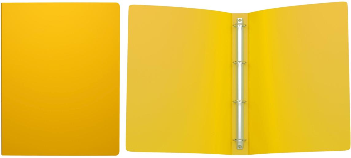 Erich Krause Папка на 4-х кольцах Classic 35 мм формат А4 цвет желтый43029Папка на 4-х кольцах Classic предназначена для хранения перфорированных документов.Изделие изготовленоиз пластика. Кольцевой механизм надежно держит документы и файлы. Папка формата A4вмешает 200 листов.
