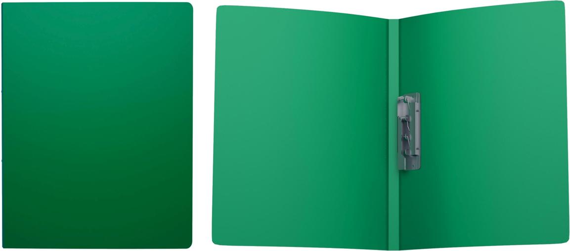 Erich Krause Папка с боковым зажимом Classic формат А4 цвет зеленый43045Пластиковая папка Classic удобна для хранения и каждодневной работы с документами впроцессе их подготовки - контрактов, рефератов, тематических отчетов. Боковой металлическийзажим надёжно фиксирует листы и брошюры, не требуя их перфорации дыроколом.