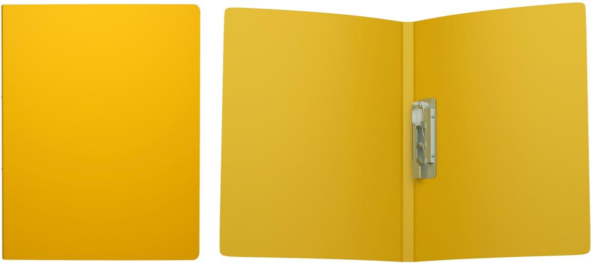Erich Krause Папка с боковым зажимом Classic формат А4 цвет желтый43047Пластиковая папка Classic удобна для хранения и каждодневной работы с документами впроцессе их подготовки - контрактов, рефератов, тематических отчетов. Боковой металлическийзажим надёжно фиксирует листы и брошюры, не требуя их перфорации дыроколом.
