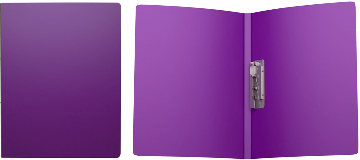Erich Krause Папка с боковым зажимом Classic формат А4 цвет фиолетовый43048Пластиковая папка Classic удобна для хранения и каждодневной работы с документами впроцессе их подготовки - контрактов, рефератов, тематических отчетов. Боковой металлическийзажим надёжно фиксирует листы и брошюры, не требуя их перфорации дыроколом.