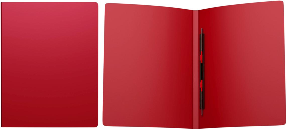 Erich Krause Папка-скоросшиватель Classic формат А4 цвет красный43053Папка-скоросшиватель используется для сшивания и хранения перфорированных документов. Надежный скоросшиватель фиксирует как отдельные листы, так и перфофайлы. Легкая папка со скоросшивателем позволяет хранить и переносить большое количество бумаг.Формат А4; дизайн Classic; цвет - красный; толщина - 0,5мм; материал - полипропилен; тиснение - песок; вместимость листов -80; механизм - скоросшиватель пружинный; ширина корешка - 17мм