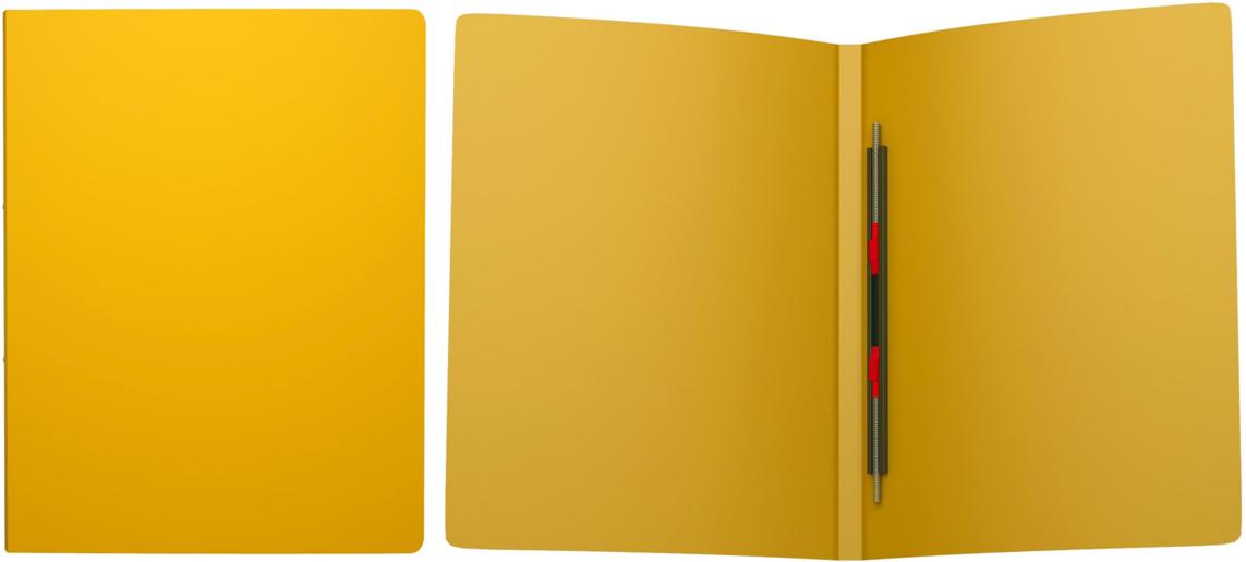 Erich Krause Папка-скоросшиватель Classic формат А4 цвет желтый43054Папка-скоросшиватель используется для сшивания и хранения перфорированных документов. Надежный скоросшиватель фиксирует как отдельные листы, так и перфофайлы. Легкая папка со скоросшивателем позволяет хранить и переносить большое количество бумаг.