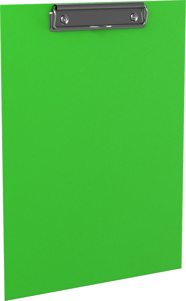 Erich Krause Планшет с зажимом Neon формат A4 цвет зеленый45409Планшет с зажимом формата А4 изготовлен из плотного картона толщиной 2 мм, покрытого бумагой со структурным тиснением и водоотталкивающей поверхностью. Металлический зажим надежно удерживает листы и файлы. Планшет позволяет комфортно работать с документами на весу. Незаменим в организации работы помощника руководителя, менеджера по работе с клиентами, работниками склада. Коллекция представлена в ярких неоновых цветах.