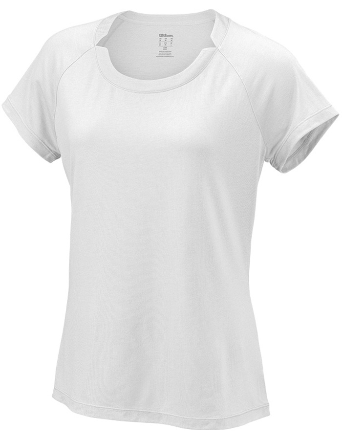 Футболка женская Wilson Condition Tee, цвет: белый. WRA760305. Размер S (44) футболка спортивная wilson wilson wi002emham49