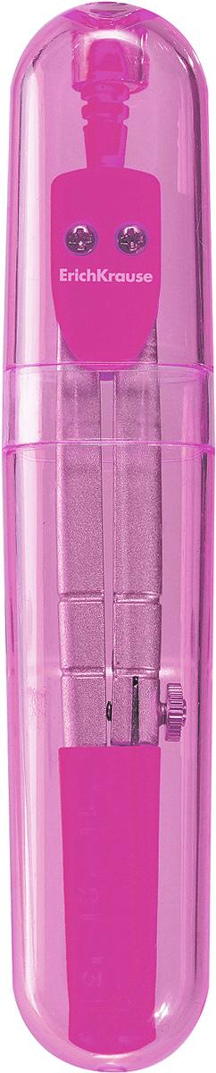 Erich Krause Циркуль S-cool цвет розовый циркуль erich krause s cool цвет голубой