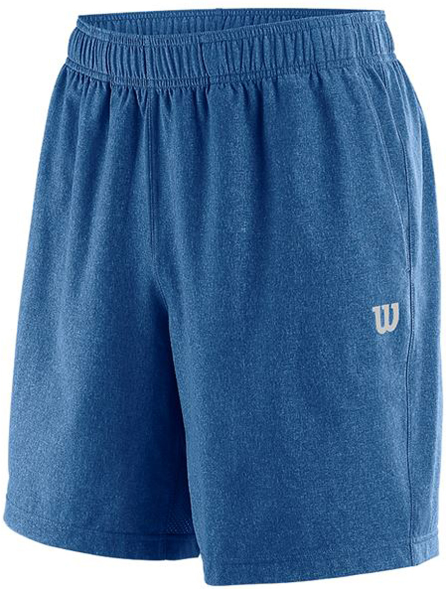 Шорты мужские Wilson Condition 8 Short, цвет: синий. WRA761001. Размер S (46)WRA761001Спортивные шорты от Wilson выполнены из высококачественного полиэстера. Модель с эластичной резинкой на талии.