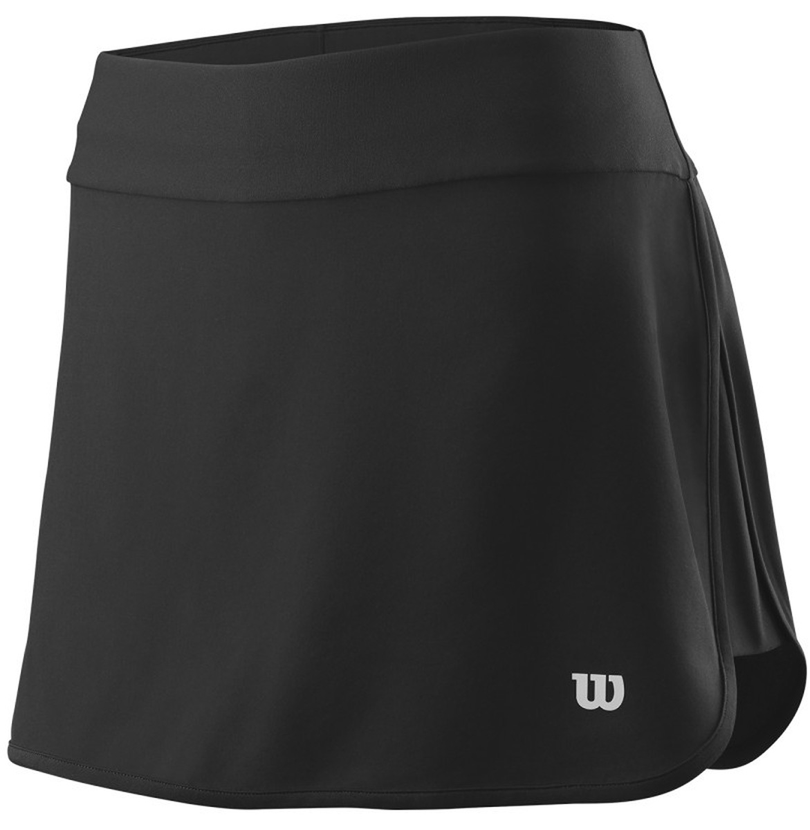 Юбка для тенниса Wilson Condition 13.5 Skirt, цвет: черный. WRA764401. Размер XS (40/42)WRA764401Юбка для тенниса от Wilson выполнена из эластичного трикотажа. Модель с эластичной резинкой на талии.