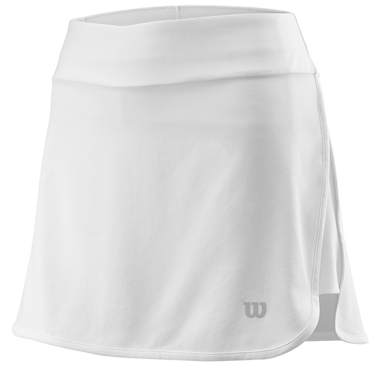 Юбка для тенниса Wilson Condition 13.5 Skirt, цвет: белый. WRA764402. Размер L (50)WRA764402Юбка для тенниса от Wilson выполнена из эластичного трикотажа. Модель с эластичной резинкой на талии.