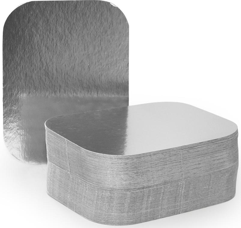 Крышка для формы Горница, 12 х 9,3 см, 100 шт402-770Картонная крышка ламинированная алюминием обладает теми же барьерными свойствами что и сами формы. Плотно закрывает контейнер со всех сторон, прижимаясь краями формы. Обеспечивает высочайшую сохранность продуктов за счёт отражающих свойств алюминиевого слоя. При использование алюминиевой формы с крышкой, контейнеры можно ставить друг на друга.