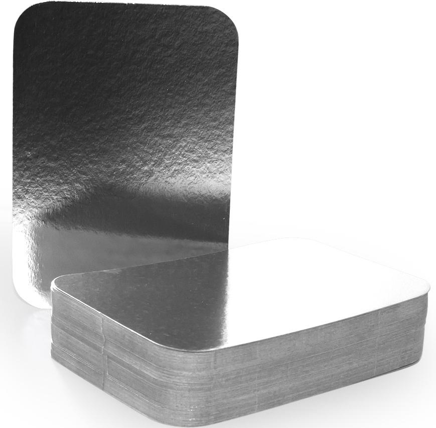Крышка для формы Горница,21,3 х 15 см, 100 шт402-775Картонная крышка ламинированная алюминием обладает теми же барьерными свойствами что и сами формы. Плотно закрывает контейнер со всех сторон, прижимаясь краями формы. Обеспечивает высочайшую сохранность продуктов за счёт отражающих свойств алюминиевого слоя. При использование алюминиевой формы с крышкой, контейнеры можно ставить друг на друга.