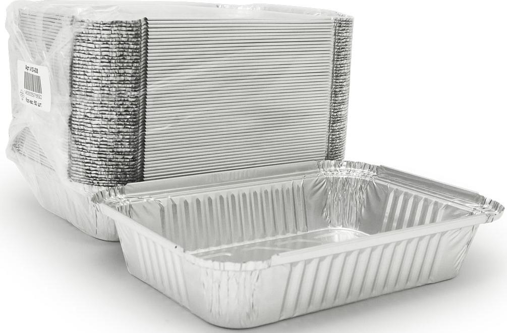 Форма для выпечки Горница, прямоугольная, L-край, 880 мл, 50 шт410-008Форма для выпечки Aviora изготовлена из алюминия. Форма выдерживает любые температурные режимы. Используется в духовых шкафах, а та же на открытом огне на мангалах и жаровнях. Пища в такой форме не пригорает и не прилипает к стенкам. Идеально подходит для приготовления и разогрева пищи. Возможно использование для хранения и перевозки пищи. Также ее можно использовать для замораживания. Можно использовать как одноразовую посуду.