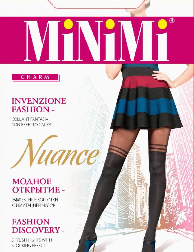 Колготки Minimi Nuance, цвет: Nero (черный). SNL-388218. Размер 4 трусики quelle nuance 753016