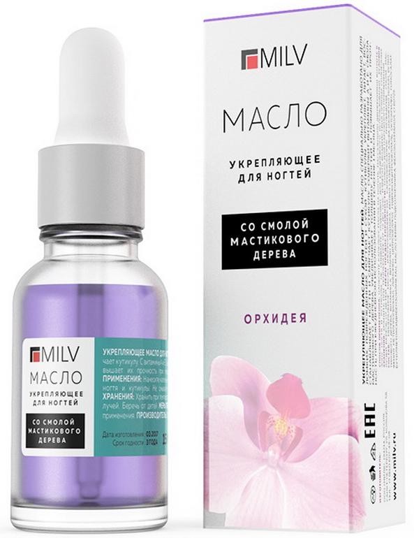 Milv Укрепляющее масло для ногтей Орхидея