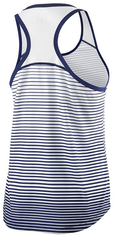 Майка женская Wilson Team Striped Tank, цвет:  синий.  WRA766103.  Размер L (50) Wilson