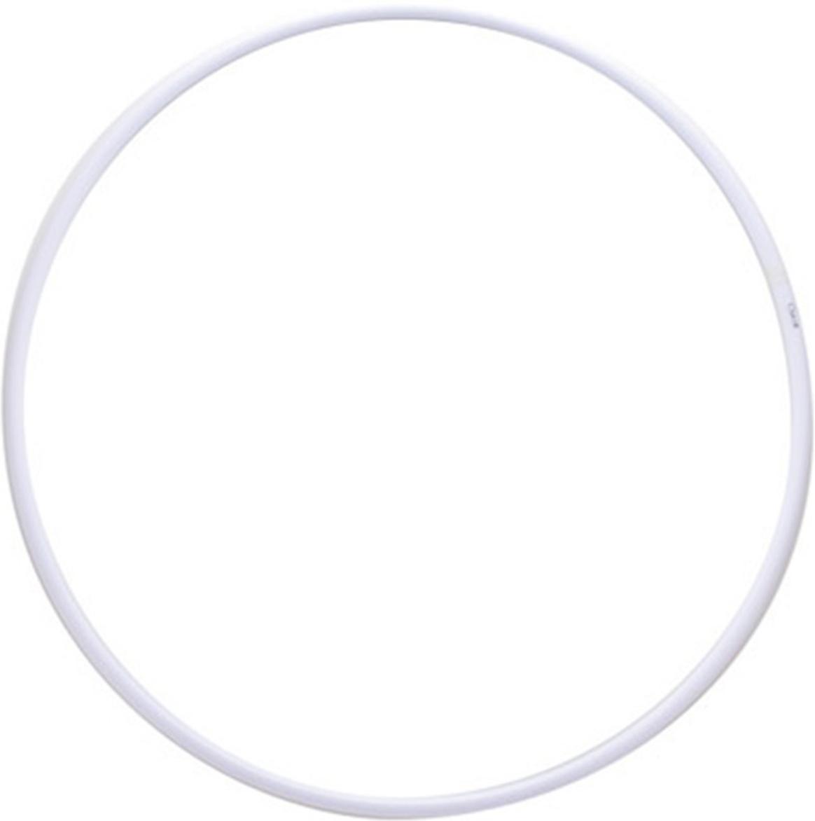 Обруч гимнастический Энсо Pro, цвет: белый, 70 смУТ-00006204Гимнастический обруч Энсо Pro - это спортивный снаряд, который успешно применяется для тренировки тела. Неразборный обруч легок по весу и имеет ровную круглую форму. Изделие может использоваться не только в фитнесе, но и в занятиях по художественной гимнастике. Пластик, из которого изготовлен обруч, экологичен и безопасен. На внутренней стороне стыка обруч укреплен пластиковой втулкой, повышающей прочность аксессуара и увеличивающей срок его службы.