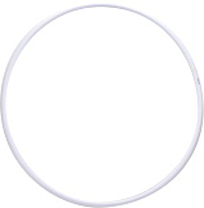 Обруч гимнастический Энсо Pro, цвет: белый, 65 см гимнастический шар 65 см