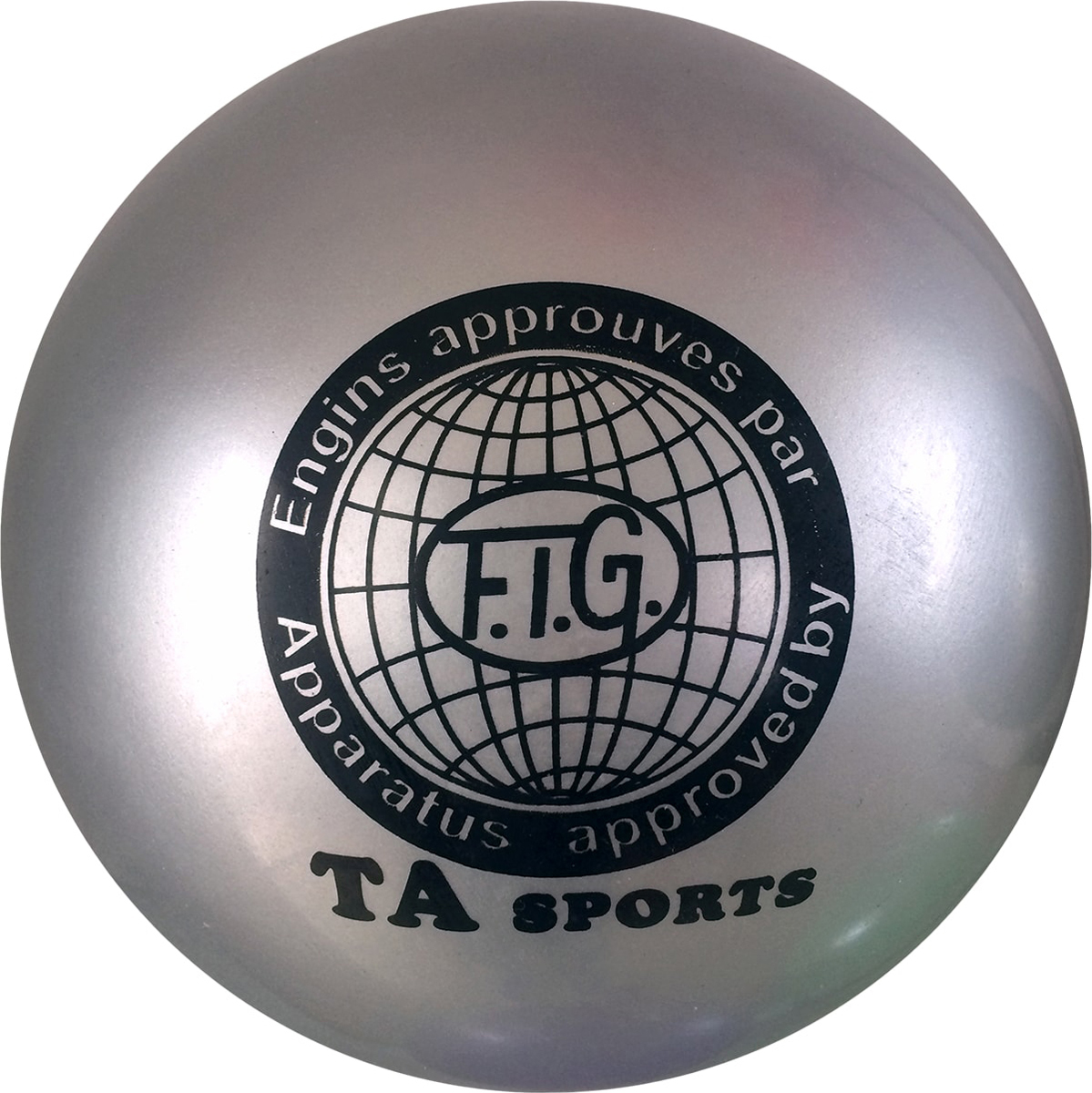 Мяч для художественной гимнастики TA-Sport RGB-101, цвет: серый, диаметр 19 смУТ-00010335Практичный и надежный мяч для художественной гимнастики от TA-Sport выполнен из прочного ПВХ яркого цвета без блесток. Мяч диаметром 19 см предназначен для спортсменок-юниоров и взрослых гимнасток. Как правило, цвет мяча подбирается под образ и костюм гимнастки.Хранить мяч нужно в чехле, чтобы на нем не появились царапины. В зимнее время следует использовать утепленный чехол, чтобы мяч не сдувался от перепада температуры. Желательно избегать попадания прямых солнечных лучей.