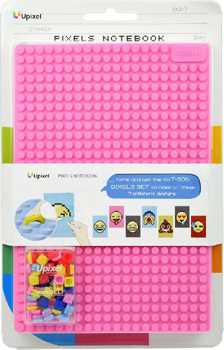 Upixel Пиксельный блокнот 100 листов в линейку цвет розовый80894В голове множество молниеносных мыслей и важных идей, которые вас посетили за чашечкой утреннего кофе, после встречи с партнёрами, или же это дизайнерские решения в ходе обсуждений с коллегами, так же нуждающиеся в записи? Независимо от деятельности, будь вы школьником, студентом или менеджером, весь объем информации не всегда можно запомнить в нескончаемом потоке рабочих будней. В такие моменты отличным решением может стать блокнот, аксессуар, который не требует подзарядки и так же, как мобильное устройство всегда может находится в вашем рюкзаке или сумке. А возможность декорирования обложки несомненно становится неоспоримым плюсом, так как вы в любой момент можете сменить дизайн своего аксессуара.