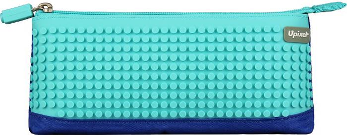 Upixel Пиксельный пенал в ярких красках цвет синий голубой80779Детский пенал - важный элемент в жизни любого школьника, незаменимый аксессуар с размещением десятка карандашей, нескольких ручек, ластика, маленькой линейки и точилки. А для модных девочек-тинейджеров, как вариант, может стать стильной косметичкой под пудру, зеркальце, макияжные кисточки и, конечно же, под мобильный телефон.