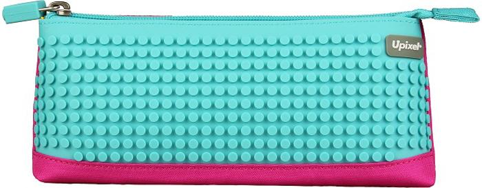 все цены на Upixel Пиксельный пенал в ярких красках цвет фуксия голубой онлайн