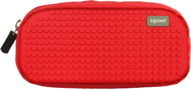 Upixel Пенал школьный пиксельный Dreamer цвет красный80901Пенал — это, наверное, один из самых важных элементов для учеников младших классов в арсенале школьных принадлежностей. Каждый малыш любит с гордостью извлечь свой красочный кейс с ручками и карандашами разместив его для демонстрации с края парты. А ту важную деталь, что пенал можно украшать пиксельными рисунками по своему желанию хоть каждый день, точно никто не оставит без внимания. В комплекте:Маленькие пиксели (фишки) разноцветные, 80 шт. Фирменный буклет с возможными вариантами изображений
