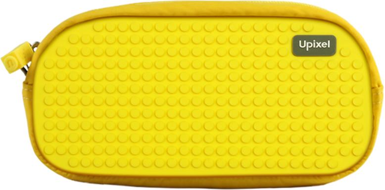 Upixel Пенал школьный пиксельный Dreamer цвет желтый