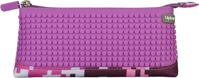 Upixel Пиксельный пенал в ярких красках80946Детский пенал важный элемент в жизни любого школьника, незаменимый аксессуар с размещением десятка карандашей, нескольких ручек, ластика, маленькой линейки и точилки. А для модных девочек-тинейджеров, как вариант может стать стильной косметичкой, под пудру, зеркальце, макияжные кисточки и конечно же под мобильный телефон. В комплекте: маленькие пиксели (фишки) разноцветные, 80 шт. Фирменный буклет с возможными вариантами изображений