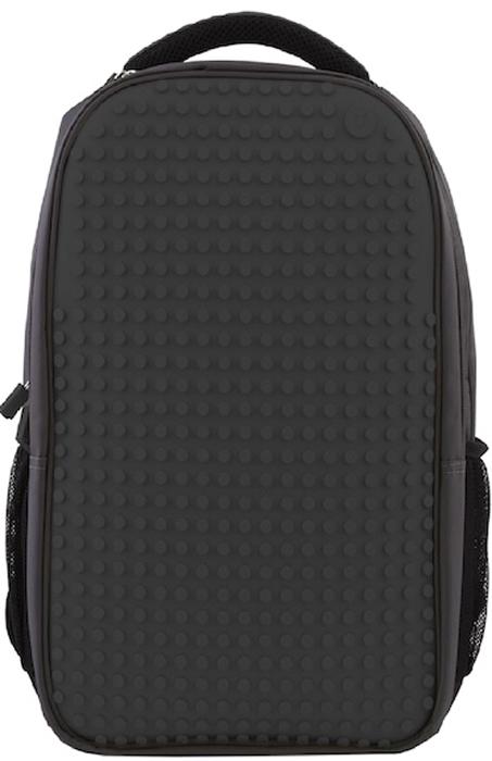 """Upixel Пиксельный рюкзак для ноутбука цвет черный80060Надежный и вместительный рюкзак для ноутбука с эргономической спинкой. Ткань с водоотталкивающей пропиткой и утолщенные внутренние стенки обеспечат отличную защиту вашему цифровому помощнику с диагональю экрана 15"""". А современный дизайн и возможность ежедневно изменять внешний вид рюкзака всегда будут создавать акцент и задавать ваш тренд окружающим. В комплекте: Большие пиксели (фишки) разноцветные, 120 шт. Фирменный буклет с возможными вариантами изображений"""