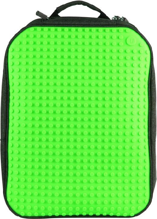 Upixel Пиксельный рюкзак большой ортопедическая спинка цвет зеленый -  Ранцы и рюкзаки