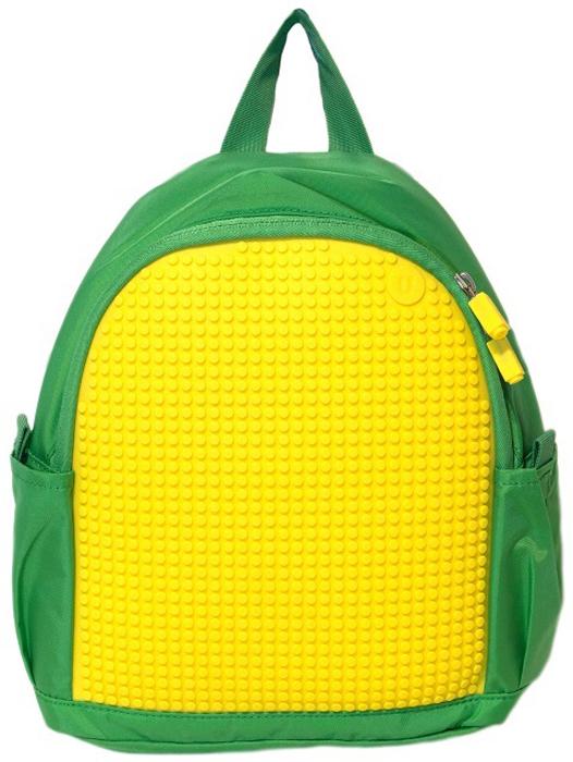 Upixel Мини рюкзак цвет зеленый желтый -  Ранцы и рюкзаки