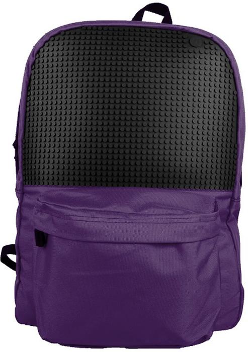 Upixel Классический школьный пиксельный рюкзак цвет фиолетовый80704Какой рюкзак купить в школу ребенку? Через этот вопрос в свое время проходит каждый родитель. И временами классический вариант дизайна становится отличным решением, а от Upixel это еще и прекрасная возможность нового стиля на каждый день. Ребенок будет создавать веселые пиксельные рисунки реализовывая свои творческие идеи, и обычный с виду рюкзак в руках маленького Uдизайнера будет удивлять креативностью всех одноклассников. В комплекте: маленькие пиксели (фишки) разноцветные, 120 шт. Фирменный буклет с возможными вариантами изображений