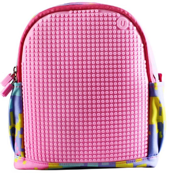 Upixel Детский рюкзак с боковыми карманами Dream High Kids Daysack цвет розовый80736Удобный мини рюкзак для девочек на любой возраст, подойдет так же под высокий запрос стильной модницы тинейджера любящей яркие цвета. При индивидуальном радужном оформлении маленькая хозяйка рюкзака всегда будет в тренде и в центре внимания. В комплекте: маленькие пиксели (фишки) разноцветные, 120 шт. Фирменный буклет с возможными вариантами изображений