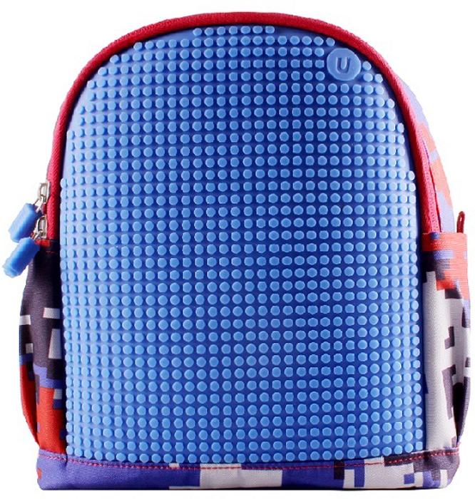 Upixel Детский рюкзак с боковыми карманами Dream High Kids Daysack цвет синий80737Универсальный мини рюкзак для детей, с броской и яркой раскраской в пиксельном стиле. По мимо школы младших классов, свободно можно использовать в качестве легкого походного варианта, разместив внутри все самое необходимое по детской потребности. Плюс возможность нового дизайна на каждый день! В комплекте: маленькие пиксели (фишки) разноцветные, 120 шт. Фирменный буклет с возможными вариантами изображений