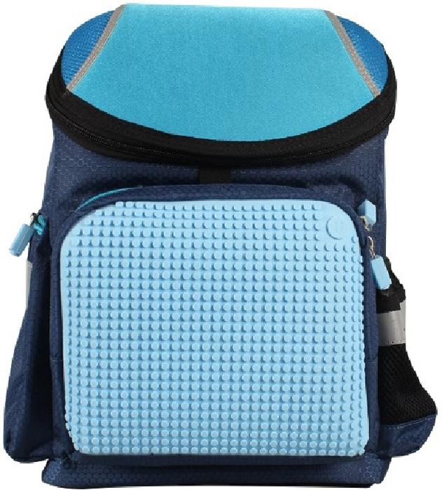 Upixel Школьный рюкзак цвет темно-синий80746Крепкий, вместительный и практичный рюкзак для мальчиков с возможностью ежедневного изменения внешнего вида по собственному желанию, дизайну и творческой идее. Сын хочет изображение супергероя на рюкзаке или машину, не вопрос главное творческий подход и желание создать свой стиль. Поход в школу будет сопровождаться восторгом и интересом со стороны одноклассников. В комплекте: маленькие пиксели (фишки) разноцветные, 120 шт. Фирменный буклет с возможными вариантами изображений