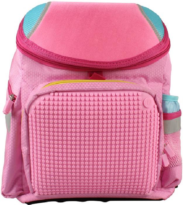 Upixel Школьный рюкзак цвет розовый80747Поиски школьного рюкзака, да еще и для девочки, это порой целая дилемма. Он должен быть, в первую очередь, красивым по запросу дочки, а по родительскому подходу практичным, крепким и вместительным. Данный вариант подходит по всем запросам и немаловажно, что для девочки может стать главным, это возможность изменения внешнего вида рюкзака, так как оформление полностью зависит от ее фантазии. А розовый окрас будет идеально подчеркивать практически любой пиксельный арт, создаваемый маленькой Uдизайнером.