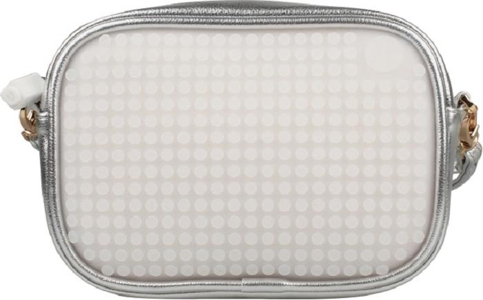 Upixel Сумочка на плечо Poker Face цвет серебряный upixel сумочка на плечо poker face цвет черный
