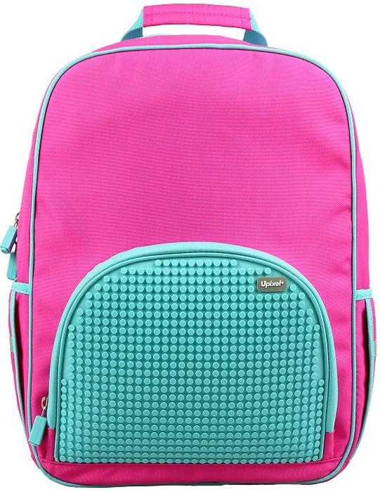 Upixel Школьный рюкзак в ярких красках цвет розовый80778Удобный и практичный - самые важные параметры для школьного рюкзака. Авозможность украшения радужными пикселями, реализуя свои творческиеидеи, подчеркнет индивидуальность рюкзака и ребенка. Качество жематериала с его водонепроницаемым свойством позволит сохранить вцелости учебники и планшет при влажной, снежной погоде или озорнойпрогулке по детским площадкам после окончания уроков.