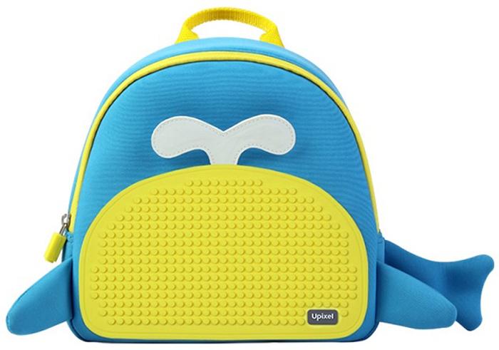 Upixel Рюкзак детский Китенок80875Небольшой, яркий, радужный и компактный рюкзак для всего самого необходимого, как раз подойдет для прогулочного варианта на отдыхе по набережной или экскурсии. Модный тинейджер сможет лишний раз выделится в толпе и за счет пиксельного рисунка подчеркнуть свою индивидуальность, а креативный дизайн в виде китенка подтолкнет фантазию маленького обладателя. В комплекте: маленькие пиксели (фишки) разноцветные, 120 шт. Фирменный буклет с возможными вариантами изображений